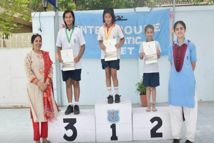 M G D Girls School-Champions