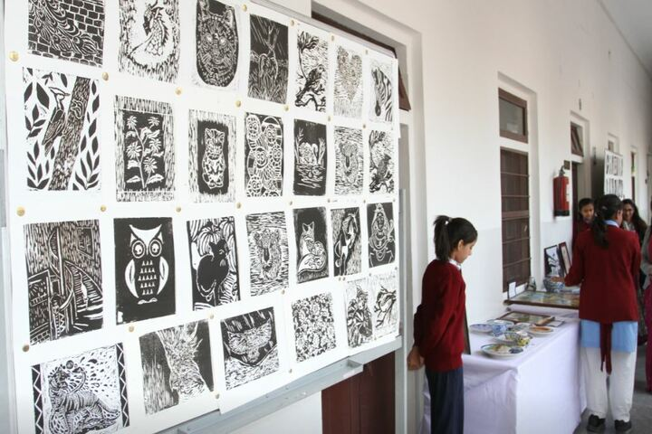 M G D Girls School-Exhibition