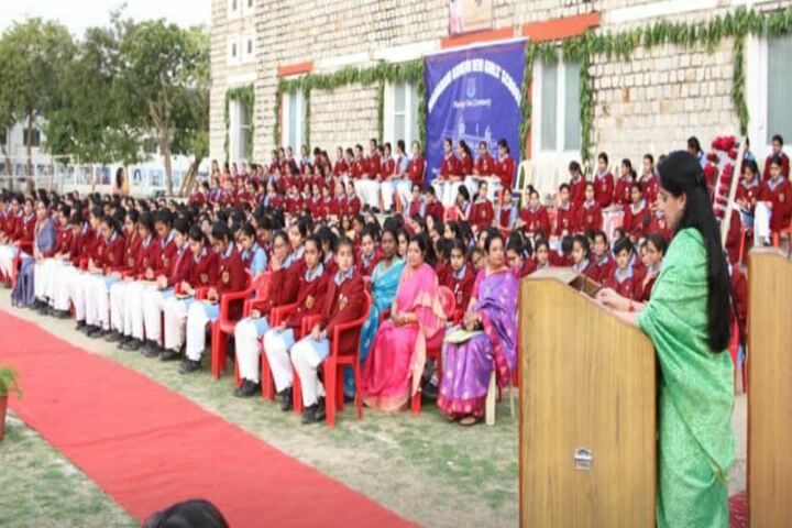 M G D Girls School-Speech