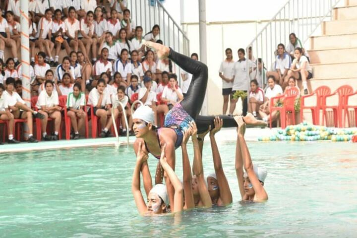 M G D Girls School-Swimming