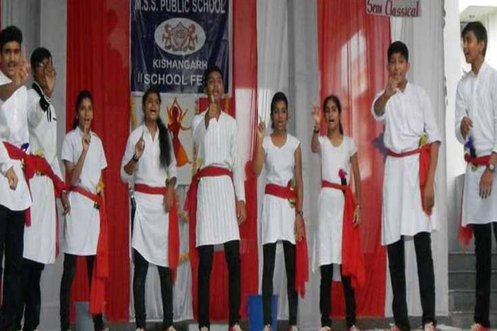 M S S Public School-Dance
