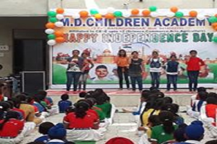 M D Children Academy-Independences Day