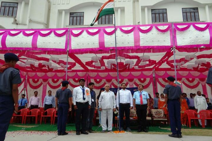 Mahala Residential Public School-Flag Hoisting