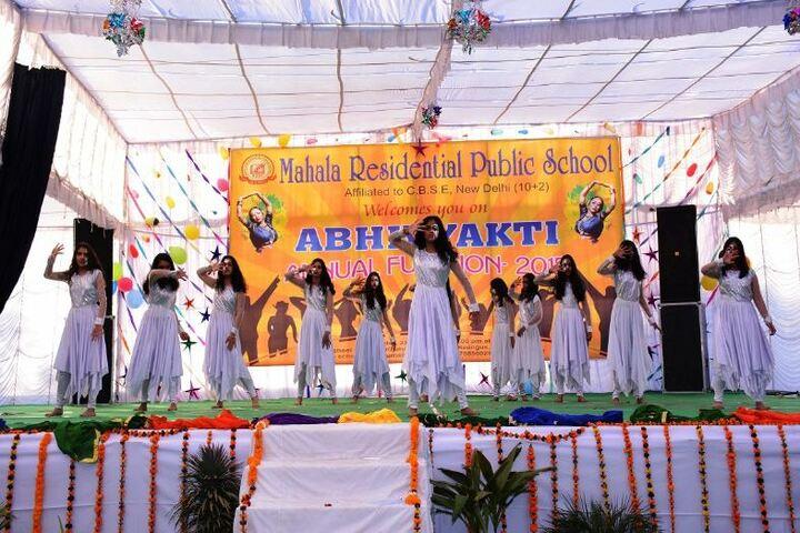 Mahala Residential Public School-Western Dance