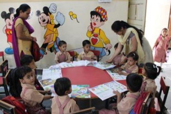 Maharaja Agrasen Public School-Kids