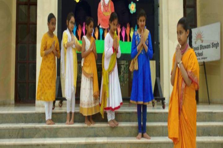 Maharaja Sawai Bhawani Singh School-Drama