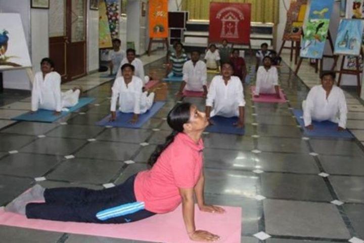 Maharana Mewar Public School-Yoga