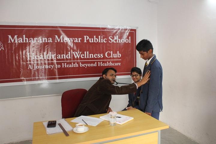 Maharana Mewar Public School-Medical Facility