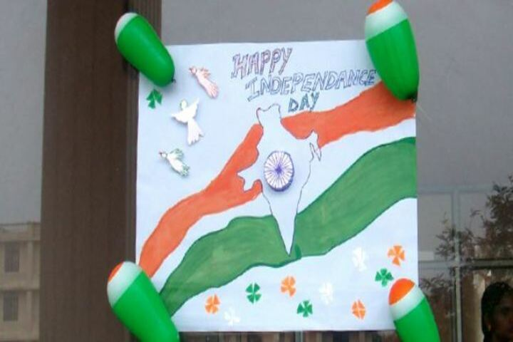 Maharishi Arvind Public School-Independence Day