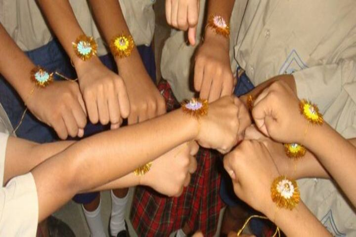 Maharishi Arvind Public School-Rakhi Festival