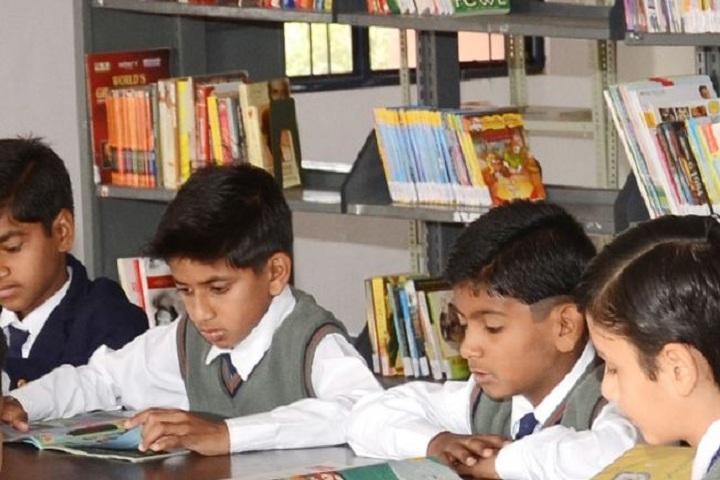 Maharishi Arvind Public School-Library