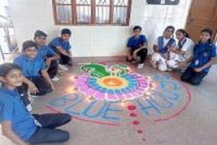 Maheshwari Public School-Blue house