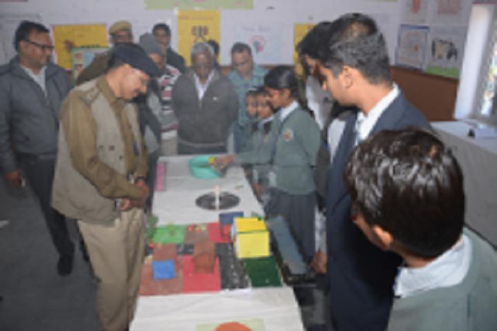 Maheshwari Public School-Science exhibition