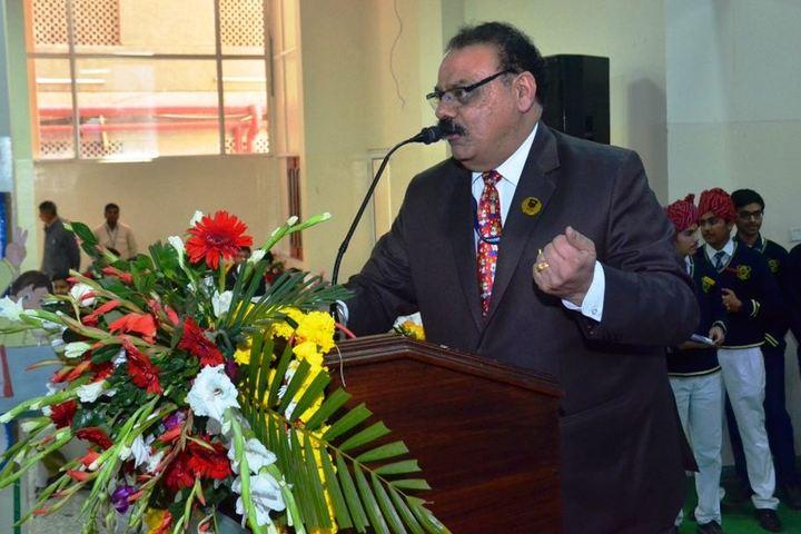 Maheshwari Public School-Speech