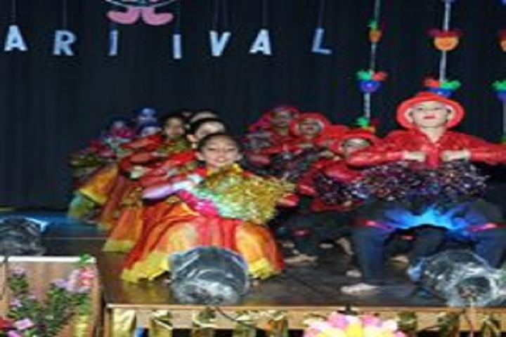 Maheshwari Public School-Festival Dance