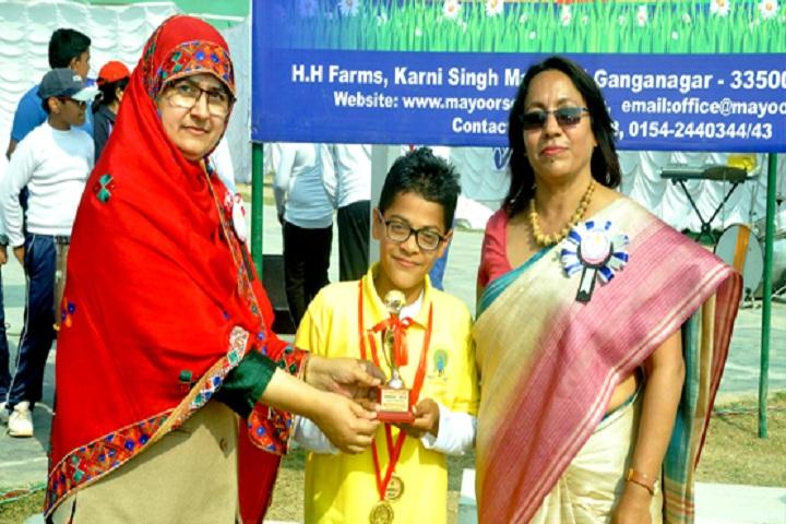 Mayoor School-Prizes