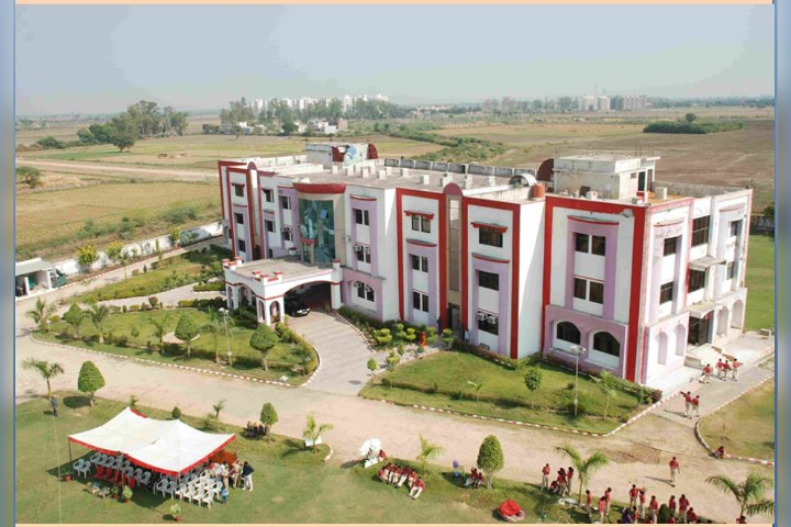 """Mittal International School- Campus Birds Eye View"""