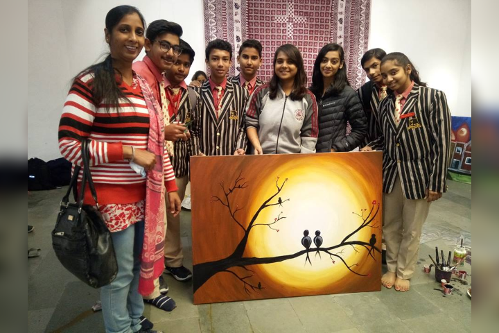 Mittal International School- Painting