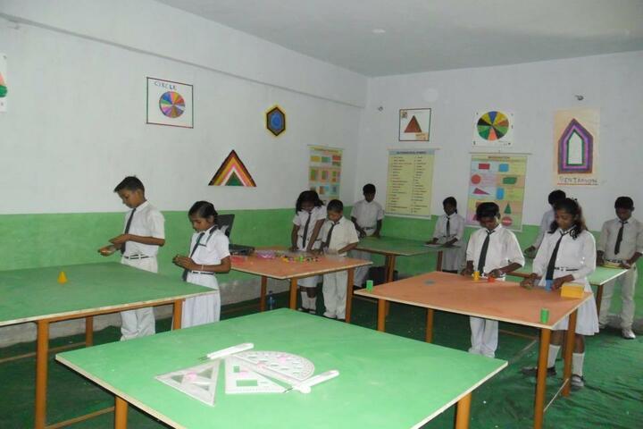 Kiddy Convent High School-Maths Lab