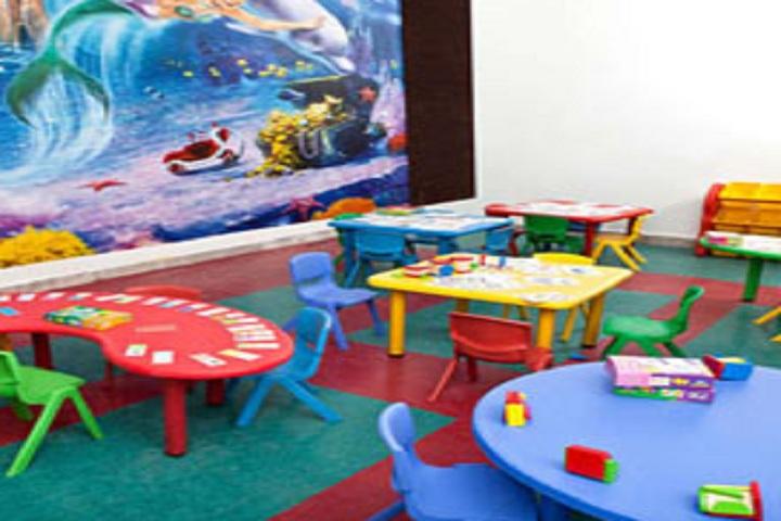 Modern School-Nursery classroom