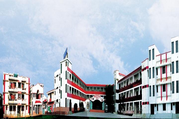 Modern School-School building