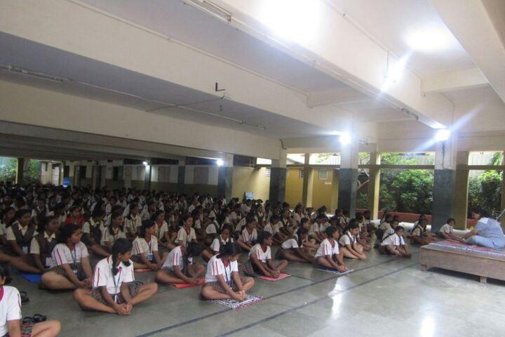 Auxilium Convent High School-Yoga