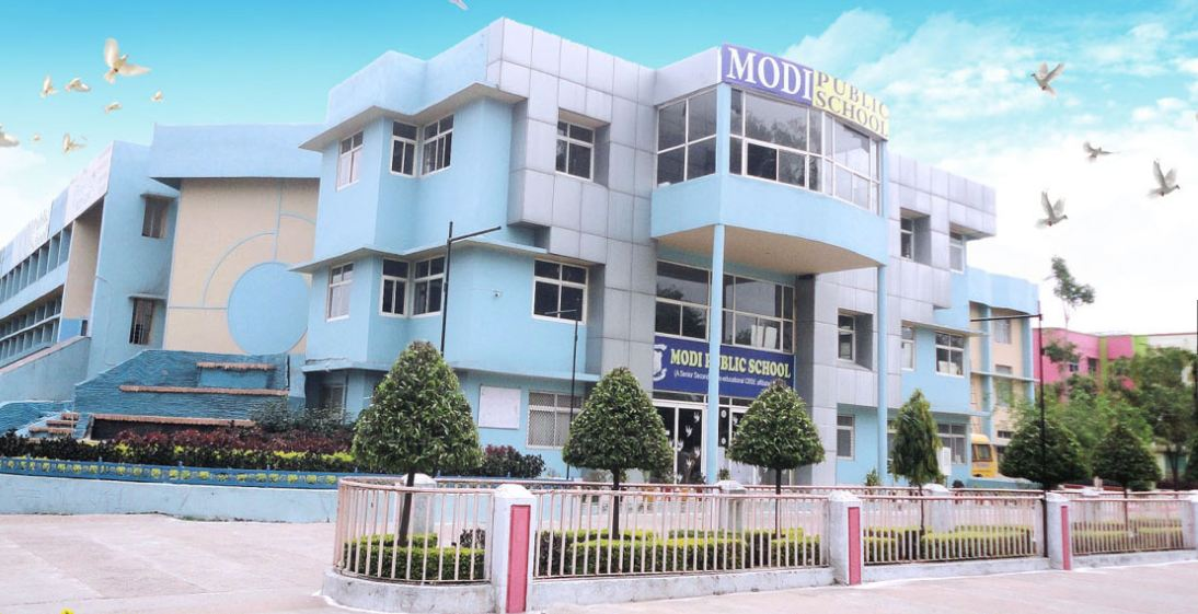 Modi Public School-Campus View