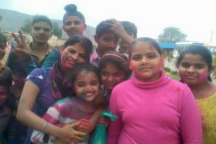 N D  Ganga School-Holi Celebrations