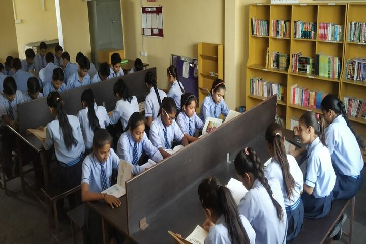 N D Ganga School-Library