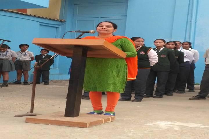 National Academy Day Boarding English-Speech