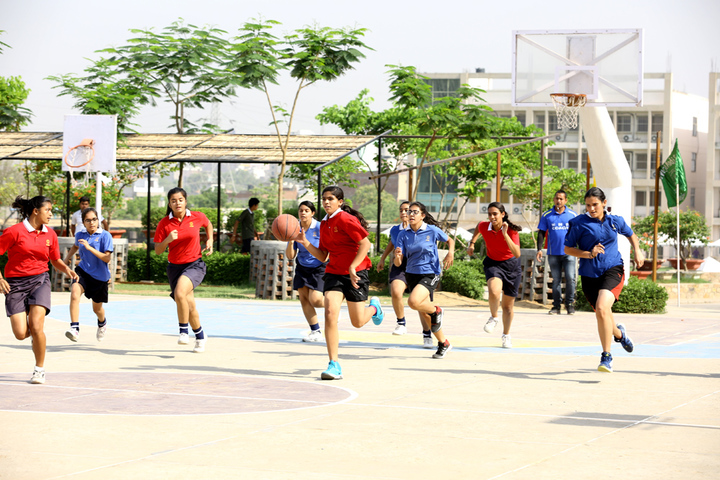 Neerja Modi School-Basket ball