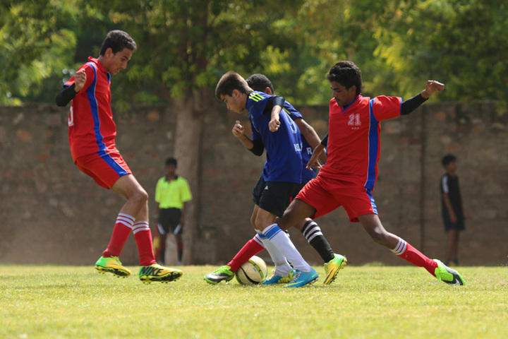 Neerja Modi School-Football