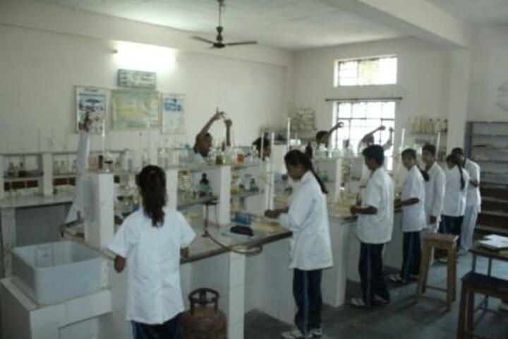 New Look Central School-Chemistry lab