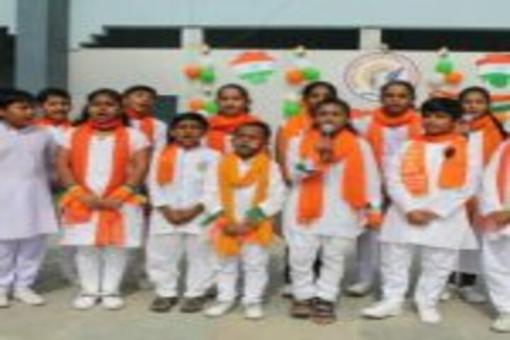 New Look Central School-Republic Day