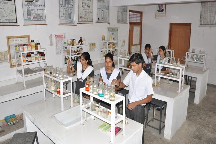 New Rajasthan Public School-Chemistry lab