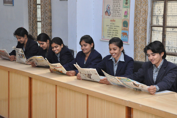 New Rajasthan Public School-Library