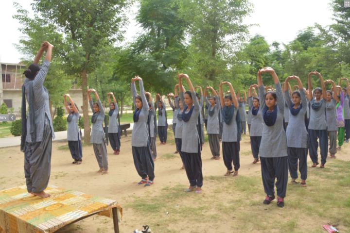 New Rajasthan Public School-Yoga
