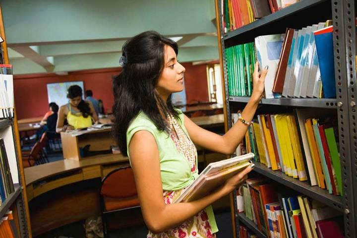 New Saraswati Children Academy-Library