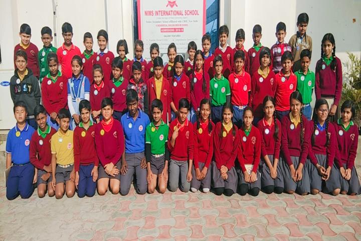 Nims International School-Sports Team