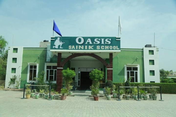 Oasis Sainik School-Campus