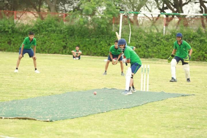 Oasis Sainik School-Cricket play ground
