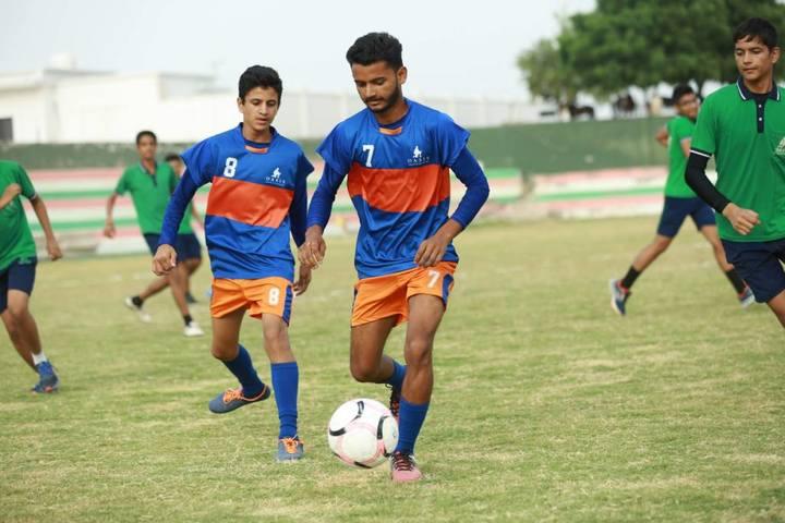 Oasis Sainik School-Football