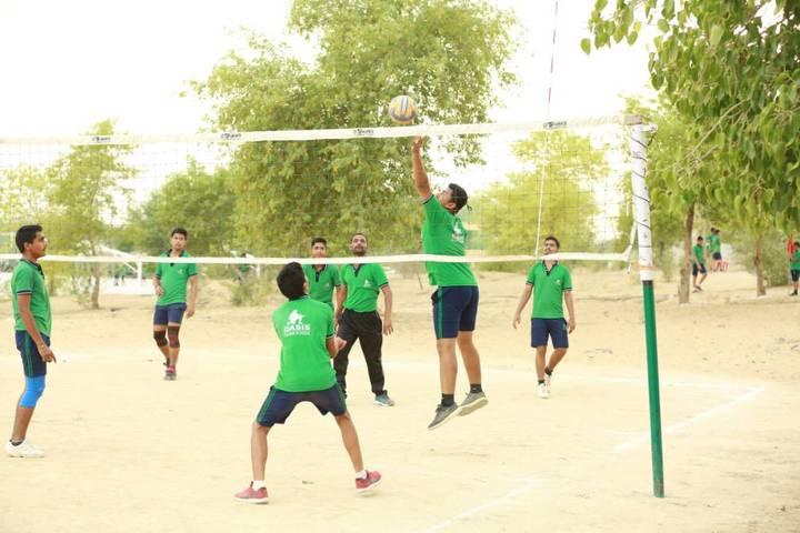 Oasis Sainik School-Volley ball