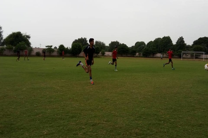Paramlakshya World School-Football Court