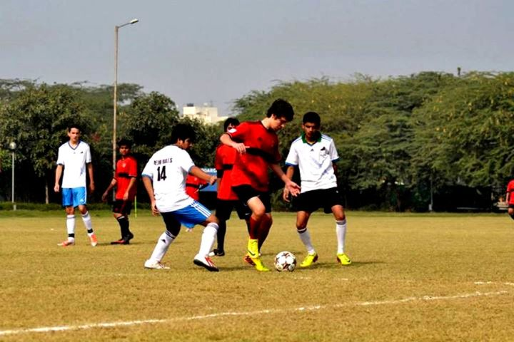 Paras International English School-Play ground