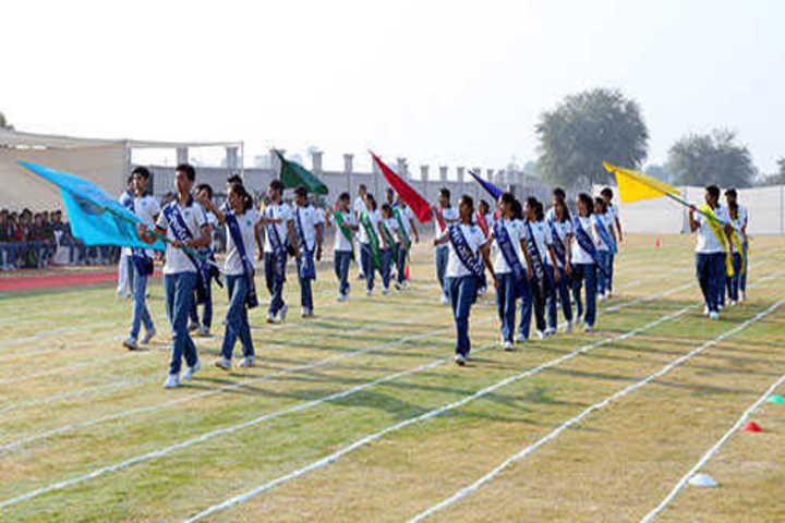 Paras International English School-Sports Day
