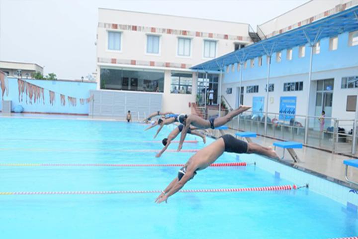 Paras International English School-Swimming