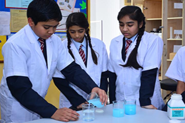 Pearson School-Chemistry lab