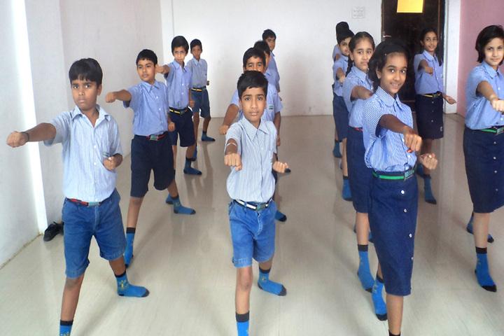 Podar World School-Activity class