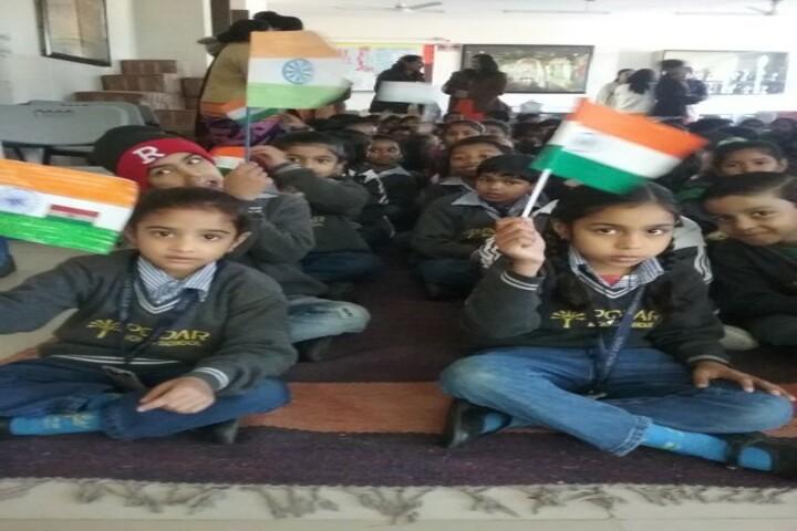 Podar World School-Independence Day